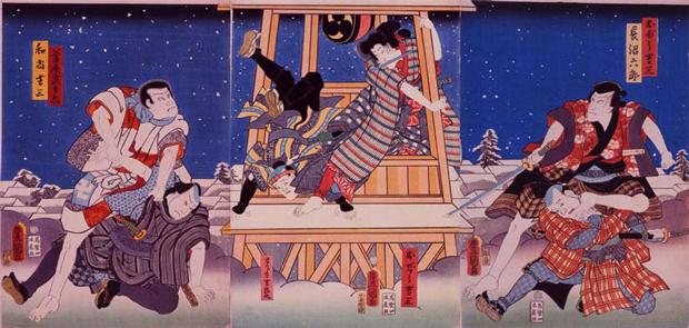歌舞伎役者を浮世絵で堪能「大江...