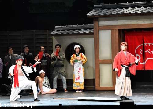 浪漫活劇『るろうに剣心』が新橋演舞場で開幕