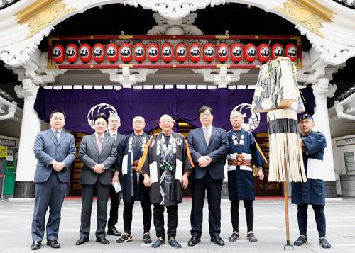 歌舞伎座「木遣り始め」で寿ぐ平成最後の正月