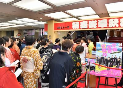 「着物で歌舞伎」で笑顔があふれた「新春浅草歌舞伎」