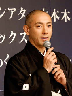 海老蔵、三宅健が語る「六本木歌舞伎」
