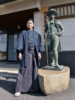 幸四郎、歌舞伎座「六月大歌舞伎」夜の部ゆかりの地へ