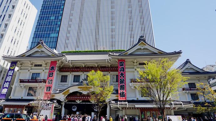 歌舞伎座「四月大歌舞伎」初日開幕