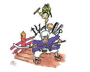 「團菊祭五月大歌舞伎」七代目丑之助初舞台の祝幕意匠を発表