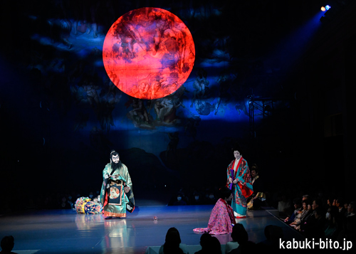 『TAMETOMO』に大きく沸いたシスティーナ歌舞伎