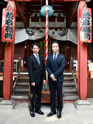 「九月花形歌舞伎」七之助、壱太郎が興行安全成功祈願