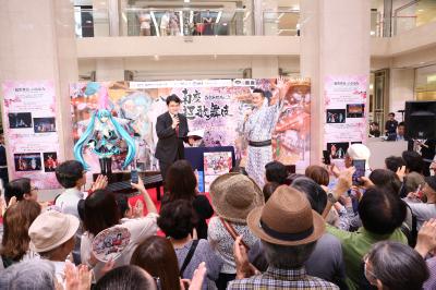 獅童が「八月南座超歌舞伎」トークイベントに登場