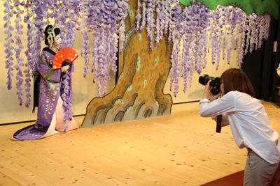 スタジオアリス歌舞伎写真館