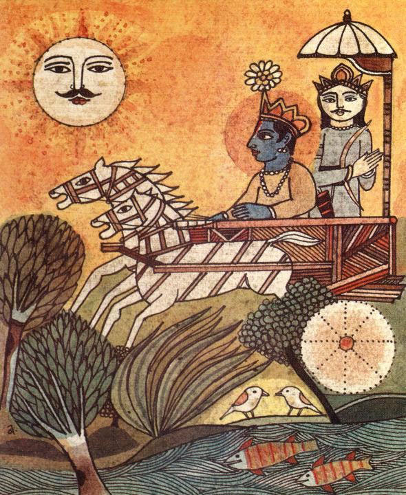インド叙事詩「マハーバーラタ」とは | 歌舞伎座「芸術祭十月大歌舞伎 ...